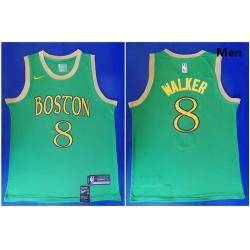 Celtics 8 Kemba Walker Green 2019 20 City Edition Swingman Jersey