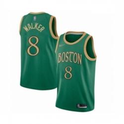 Celtics 8 Kemba Walker Green Basketball Swingman City Edition 2019 20 Jersey
