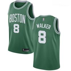 Celtics #8 Kemba Walker Green Basketball Swingman Icon Edition Jersey