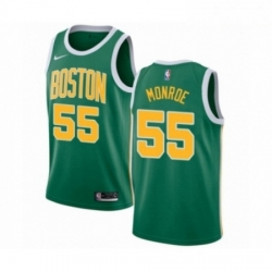 Mens Nike Boston Celtics 55 Greg Monroe Green Swingman Jersey Earned Edition