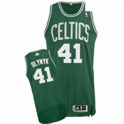 Revolution 30 Celtics 41 Kelly Olynyk GreenWhite No Stitched NBA Jersey