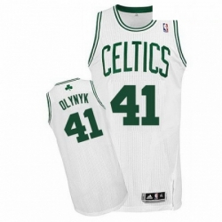 Revolution 30 Celtics 41 Kelly Olynyk White Stitched NBA Jersey
