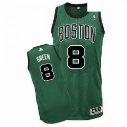 Revolution 30 Celtics 8 Jeff Green GreenBlack No Stitched NBA Jersey