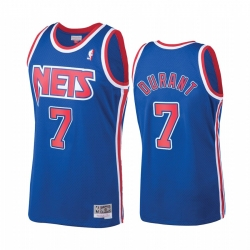 Nets 7 Kevin Durant classic blue jersey