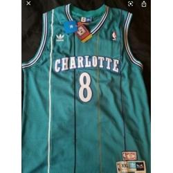 Charlotte 8 Kobe Bryant Teal Throwback Jersey