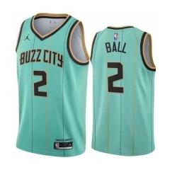 Hornets 2 Ball Men NBA City Edition Jersey
