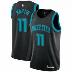 Men Cody Martin Charlotte Hornets Swingman Black Edition Jersey