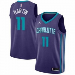 Men Cody Martin Charlotte Hornets Swingman Purple Edition Jersey
