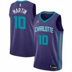 Men's Caleb Martin Charlotte Hornets Swingman Purple Jersey