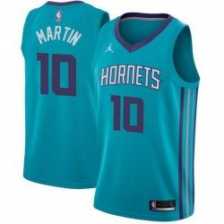Men's Caleb Martin Charlotte Hornets Swingman Teal Jersey Icon Edition