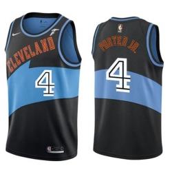Men Nike Cleveland Cavaliers 4 KEVIN PORTER JR Black NBA Jersey