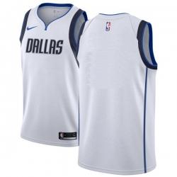 Men NBA Dallas Maverick Blank White  Nike Jersey