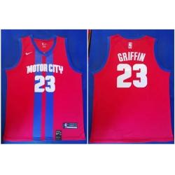 Pistons 23 Blake Griffin Red 2019 20 City Edition Nike Swingman Jersey
