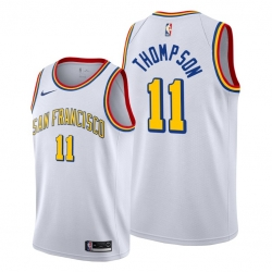 Klay Thompson Golden State Warriors #11 Men 2019-20 Classic Edition Jersey