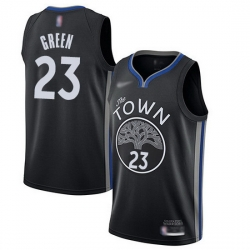 Warriors  23 Draymond Green Black Basketball Swingman City Edition 2019 20 Jersey