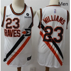 Clippers #23 Louis Williams White Basketball Swingman Hardwood Classics Jersey