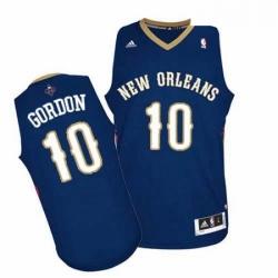 Revolution 30 Pelicans 10 Eric Gordon Navy Stitched NBA Jersey