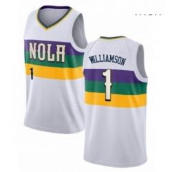 Zion Williamson NOLA Pelicans jersey 1