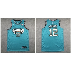 Grizzlies 12 Ja Morant Green Nike Authentic Jersey