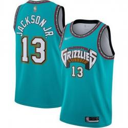 Grizzlies  13 Jaren Jackson Jr. Green Basketball Swingman Hardwood Classics Jersey