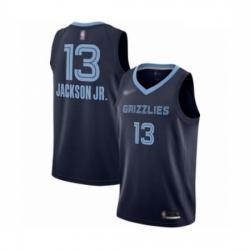 Grizzlies 13 Jaren Jackson Jr  Navy Blue Basketball Swingman Icon Edition Jersey