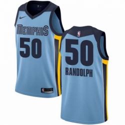 Mens Nike Memphis Grizzlies 50 Zach Randolph Authentic Light Blue NBA Jersey Statement Edition