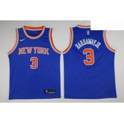 Knicks Tim Hardaway Jr  Royal Swingman Jersey