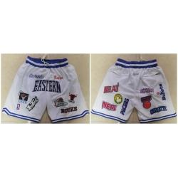 Men Muti Teams White All Star Just Don With Pocket Swingman Shorts