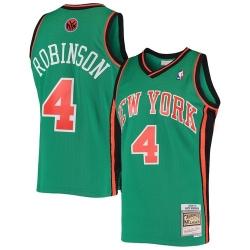 Men Nate Robinson New York Knicks Green Hardwood Classics Jersey