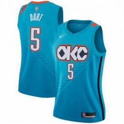 Men Nike Thunders 5 Luguentz Dort Teal Jersey