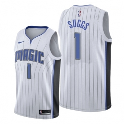 Men Orlando Magic 1 Jalen Suggs 2018 19 Association Edition White NBA Jersey