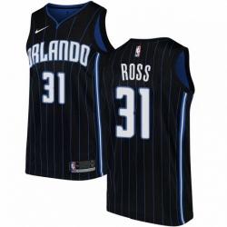 Mens Nike Orlando Magic 31 Terrence Ross Swingman Black Alternate NBA Jersey Statement Edition