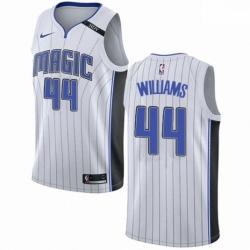Mens Nike Orlando Magic 44 Jason Williams Authentic NBA Jersey Association Edition