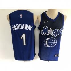 Men's Orlando Magic #1 Tracy Mcgrady Blue Salute To Service Basketbal Jersey