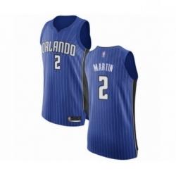 Mens Orlando Magic 2 Jarell Martin Authentic Royal Blue Basketball Jersey Icon Edition