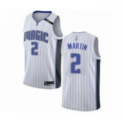 Mens Orlando Magic 2 Jarell Martin Authentic White Basketball Jersey Association Edition