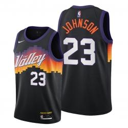 Men Phoenix Suns Cameron Johnsoncity 23 City edition the valley jersey