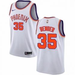 Mens Nike Phoenix Suns 35 Dragan Bender Swingman NBA Jersey Association Edition