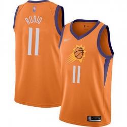 Suns  11 Ricky Rubio Orange Basketball Swingman Statement Edition 2019 2020 Jersey