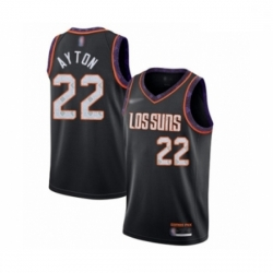 Suns 22 Deandre Ayton Black Basketball Swingman City Edition 2019 20 Jersey
