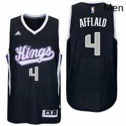 Sacramento Kings 4 Arron Afflalo Alternate Black New Swingman Jersey