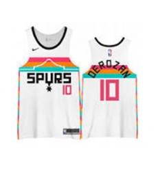 Men San Antonio Spurs DeMar DeRozan White Nike NBA Jersey