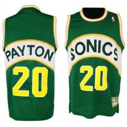 Seattle SuperSonics #20 Gary Payton Green Soul Swingman NBA Jersey
