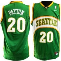 Seattle Supersonics #20 Payton Green Jersey