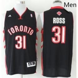 Revolution 30 Raptors 31 Terrence Ross Black Stitched NBA Jersey