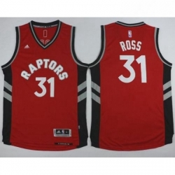 Revolution 30 Raptors 31 Terrence Ross Red Stitched NBA Jersey