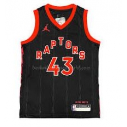 Men Toronto Raptors Pascal Siakam Black Jordan Brand Jersey
