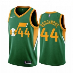 Men Utah Jazz 44 Bojan Bogdanovic Green NBA Swingman 2020 21 Earned Edition Jersey