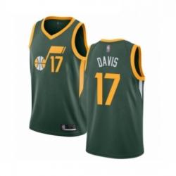 Mens Utah Jazz 17 Ed Davis Green Swingman Jersey Earned Edition