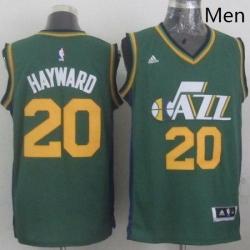 Revolution 30 Jazz 20 Gordon Hayward Green Stitched NBA Jerse